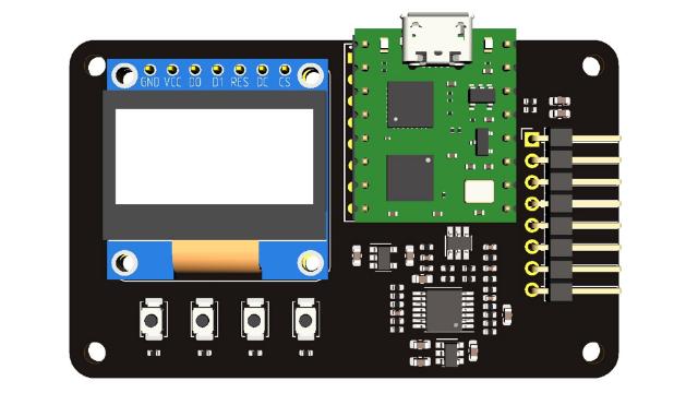 基于16管脚FPGA最小系统的简易口袋仪器DIY套件