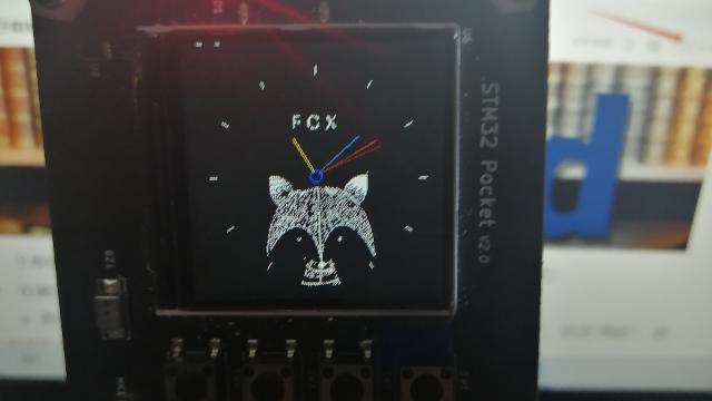 基于STM32F103嵌入式系统的模拟时钟