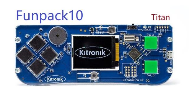 Funpack第十期--Kitronik ARCADE--任务一 制作小游戏