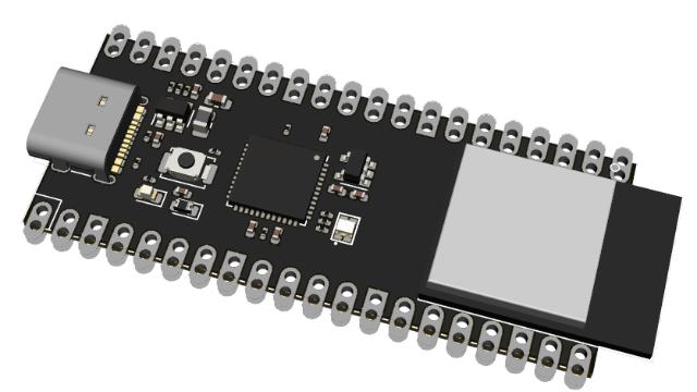 基于ESP32-S2 + ICE40UP5K的混合功能板