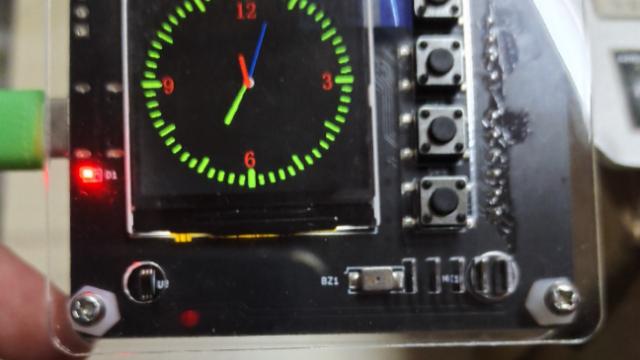 基于STM32F103模拟时钟开发过程