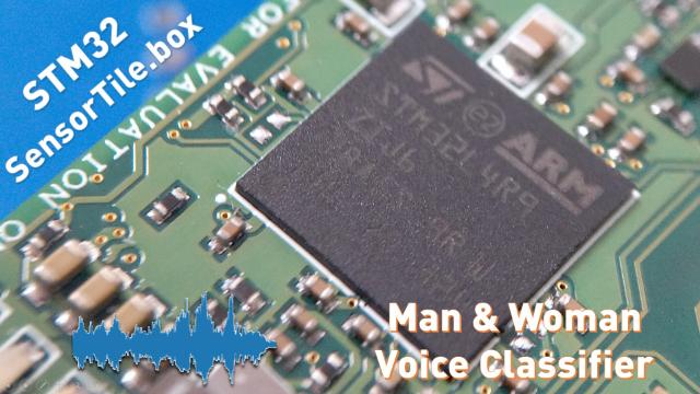 Funpack第九期:用STM32评估板SensorTile.Box物联网节点搭建一个声音分类器