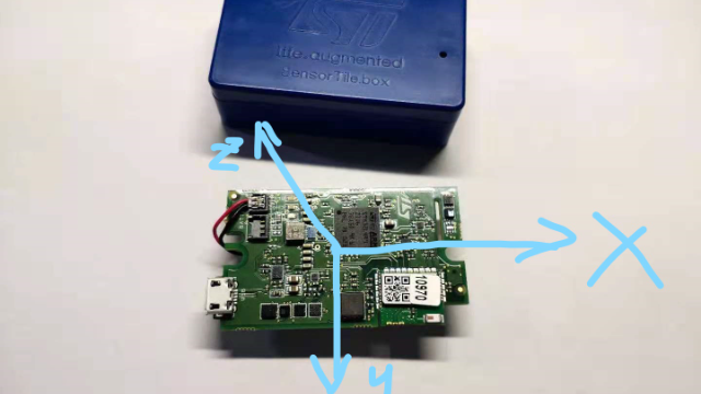 Funpack第九期:使用SensorTile.box四个面实现四个不同的功能