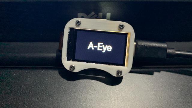 超迷你的智能摄像头A-Eye