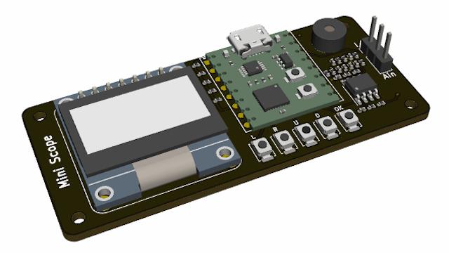 基于LPC824的简易示波器DIY套件