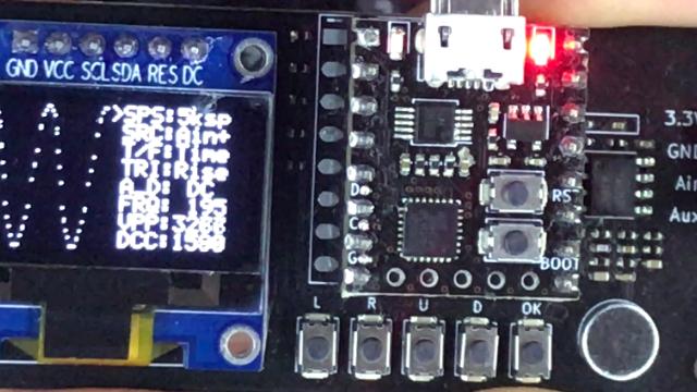 寒假一起练-1-有信号发生器功能的简易示波器DIY套件V2.0