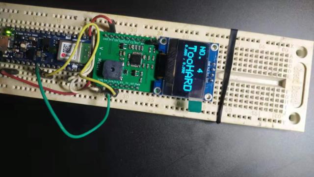 Funpack第八期—用Nano 33 BLE Sense做的投篮