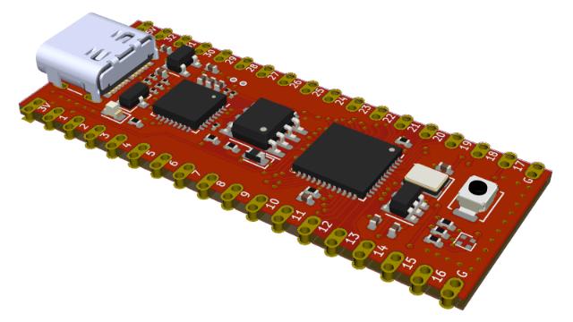 支持RISC-V的开源FPGA核心模块