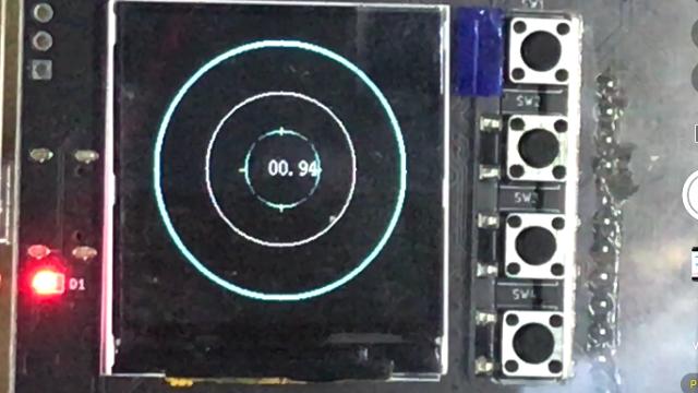 """基于STM32F103的""""口袋""""控制平台的水平仪"""