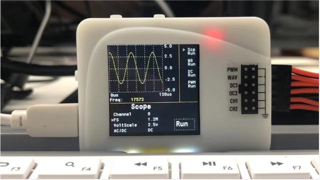 2021暑假练平台4:用LPC845制作的多功能测量工具