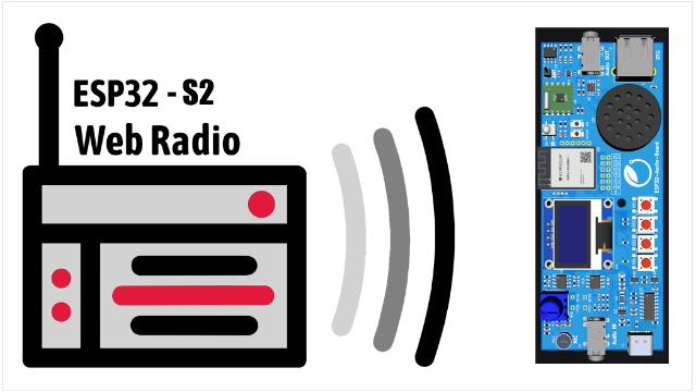 2021暑假一起练-用基于ESP32-S2-Mini-1�?榈囊羝荡砥教ㄉ杓屏薋M收音机&网络收音机